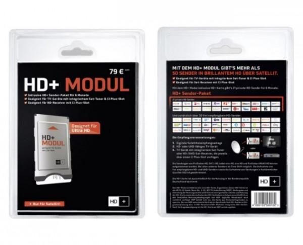HD+ Modul inkl. HD+ Karte 6 Monate geeignet HD & UHD SAT Empfang Smartcard