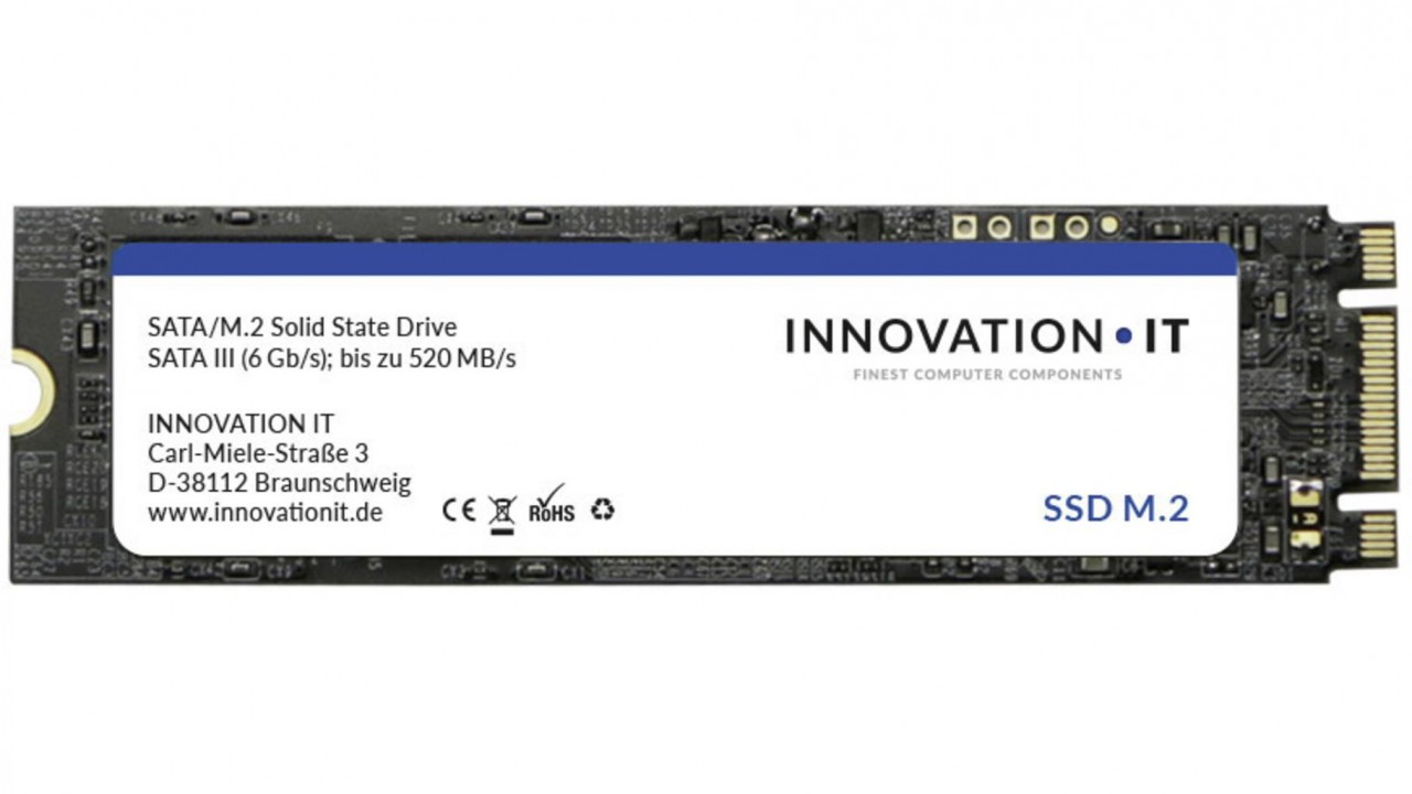 SSD Innovation IT Black (M.2) 512 GB