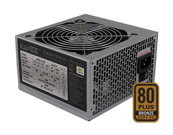PC Netzteil LC-Power Office LC420-12, 350 W