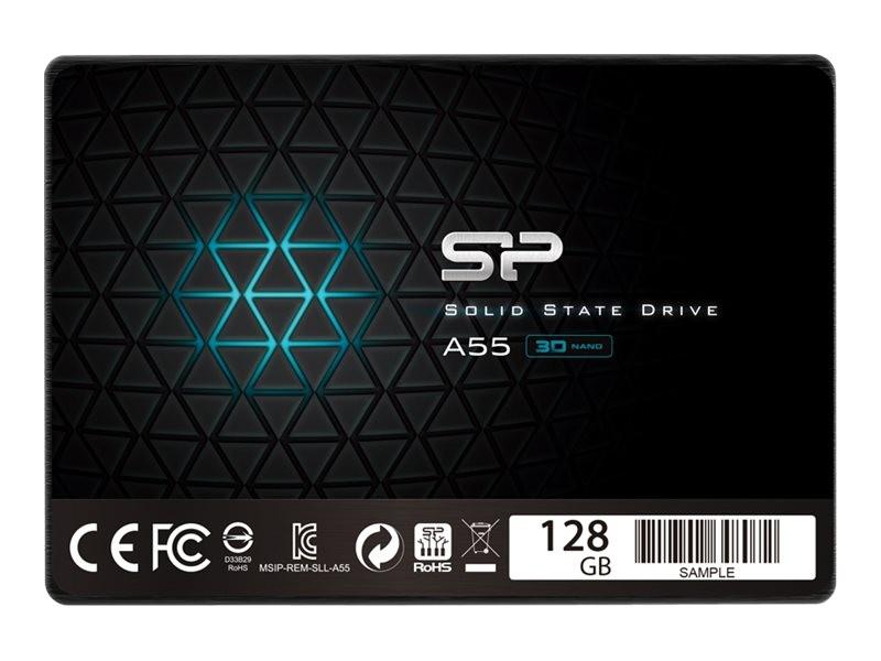 SSD Silicon Power A55 128 GB, SATA