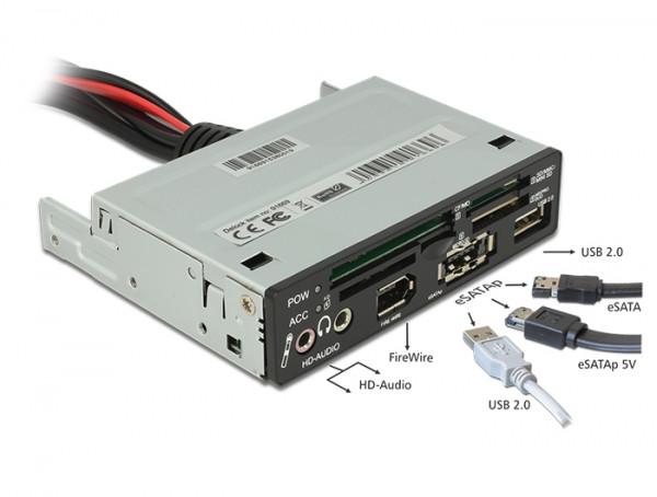 """Delock USB 2.0 Card Reader 3.5"""" All in 1 (91669)"""