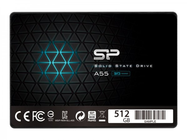 SSD Silicon Power A55 512 GB, SATA