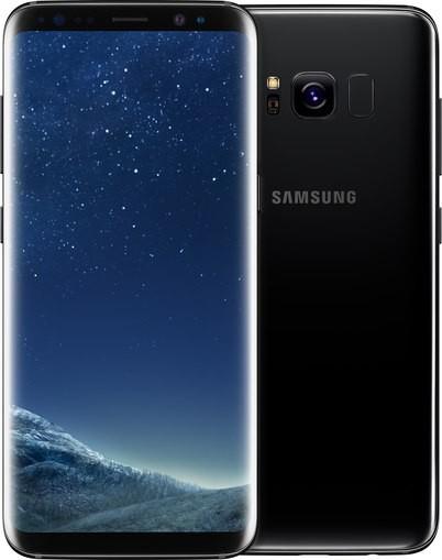 Samsung G950F Galaxy S8, schwarz