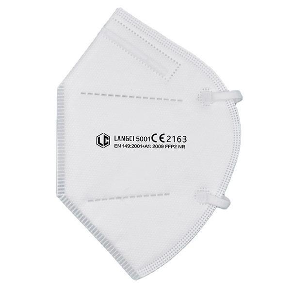 LANGCI 5001 FFP2 NR Filtrierende Halbmaske Premium, CE 2163