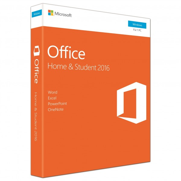 Microsoft Office Home & Student 2016 ESD, 1 PC