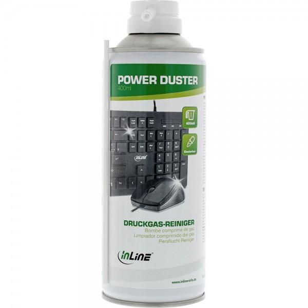 InLine Druckluft-Reiniger, Spraydose 400 ml
