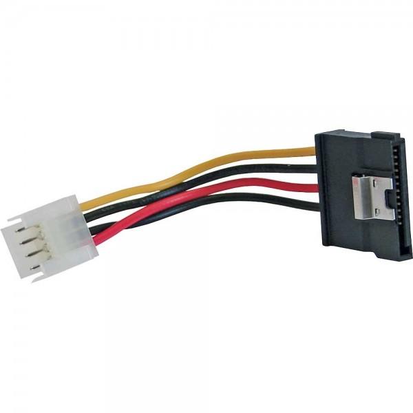 SATA Stromadapterkabel - Floppy Buchse auf SATA Strom-Stecker