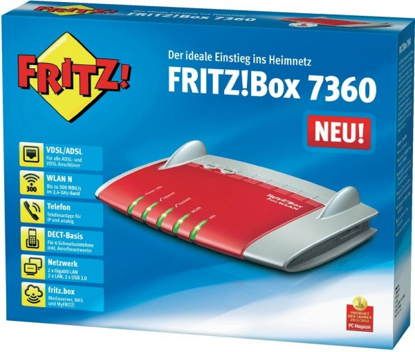 AVM FRITZ!Box 7360 EU refurbished (2. Wahl)