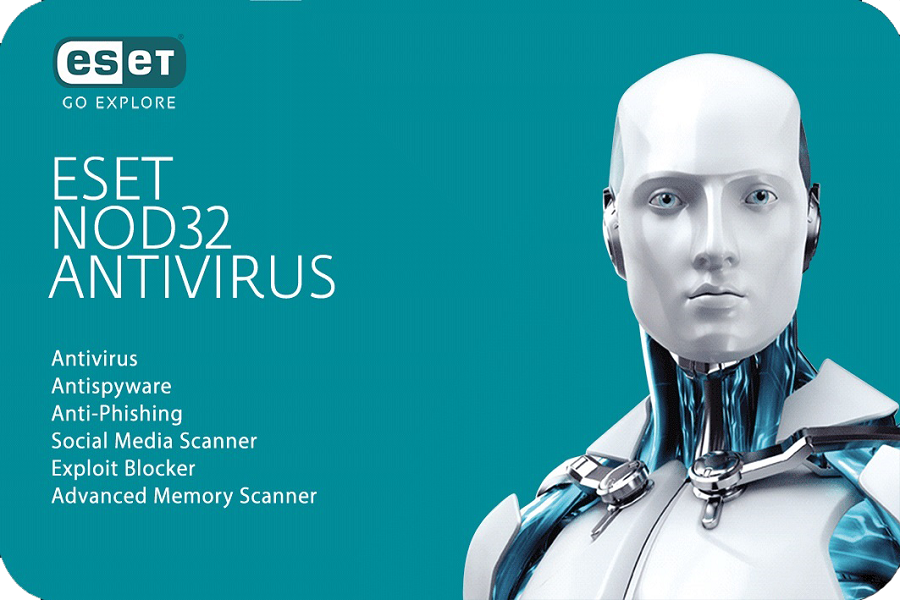 ESET NOD32 Antivirus (Box)