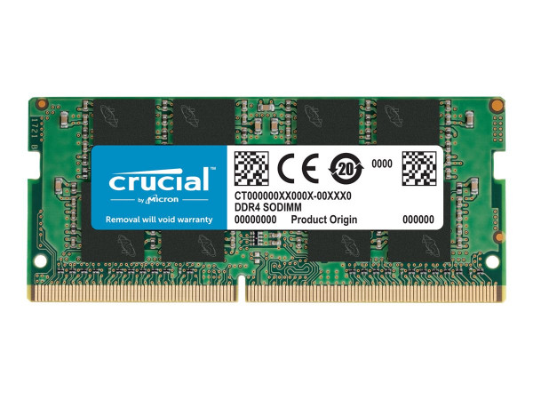 16384 MB DDR4 RAM, Crucial (Notebook RAM)