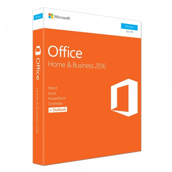Microsoft Office Home & Business 2016 ESD, 1 PC