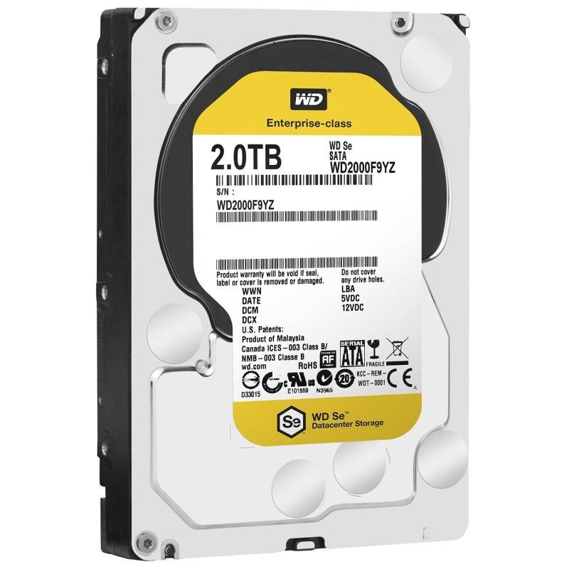 Festplatte Western Digital Gold Datacenter 2 TB, SATA