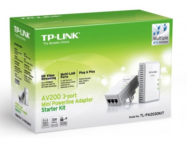 TP-Link AV200 Mini Powerline Adapter Starter Kit